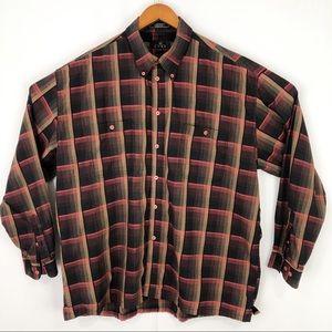Mens longsleeve Enro button-down dress shirt XL